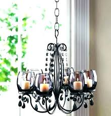 candle chandelier non electric outstanding hanging chandeliers lighting ideas astounding outdoor