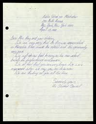 letter to coretta scott king from public school manhattan s  controls