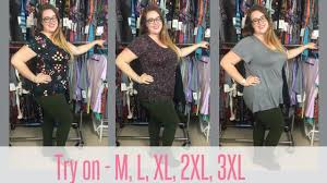 Classic Tee Lularoe Size Chart Lularoe Fit And Sizing For The Classic T Try On M L Xl 2xl 3xl