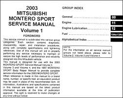 2003 mitsubishi montero sport wiring diagram wiring diagrams mitsubishi montero sport wiring diagram schematics and