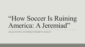 essay soccer soccer essay examples kibin example of critical soccer essay essay example essays