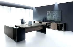 Office desk contemporary High End Executive Office Desk Set Shaped Furniture Contemporary Modern Riverruncountryclubco Shaped Modern Executive Office Desk Set With Sets Contem