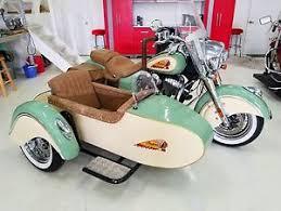 indian motorcycle harley davidson sidecar ebay