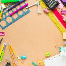 Border From Calculator And Stationery Photo Free Download