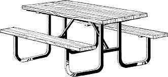 round table clipart black and white. clipart table black and white more round