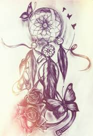 Dream Catchers Sketches dreamcatcherdrawings Tattoo ideas Pinterest Tattoo 49
