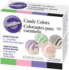 Wilton Garden Candy Color Set (Set of 4- 1/4 oz ... - Amazon.com