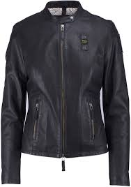 blauer usa 1459 las leather jacket women jackets fashion black blauer blauer uniforms