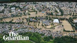 Flooding across Belgium, Germany and ...