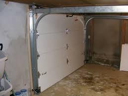 low headroom garage door installation exterior hardware low clearance garage door rails