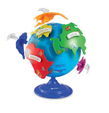 Puzzle Globe Logo Learning Resources Puzzle Globe 14 Pieces Ages 3