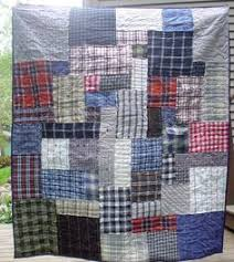 memory quilts made from shirts and jean pockets | Quilt / Sewing ... & Memorial Quilt made from clothing Adamdwight.com