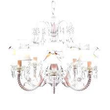 pink chandelier