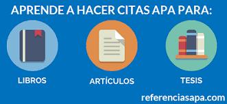 Apa Para Ejemplos Formatos Y Estilos De Referencias Apa 2019