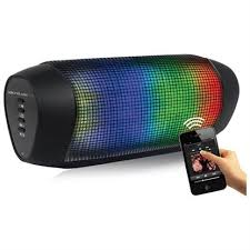 portable bluetooth speakers with lights. soundlogic xt rechargeable wireless rave bluetooth speaker with led light show portable speakers lights p