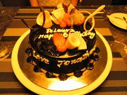 Birthday Cake From Gourmet Corner Restaurant Picture Of The