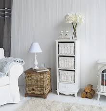 living room storage baskets uk. rose tall storage with three baskets and drawer for living room uk