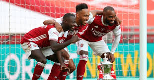 Liverpool lead the way in the premier league, but have not won the fa cup since 2006. Nicolas Pepe Won Arsenal The Fa Cup After 37 Mins With A Backheel Nutmeg Planet Football
