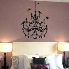 gold chandelier wall decal decals as well medium size of animal modern small