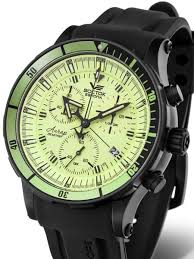 vostok europe anchar mens chronograph dive watch luminous vostok europe anchar mens chronograph dive watch luminous dial tritium tube illumination 5104214