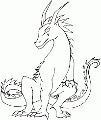 Cute Baby Dragon Pictures 504250 Coloring Pages For Kids