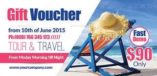 travel voucher template free tour travel gift voucher