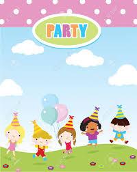 Children Birthday Invitations Children Party Invitations Birthday Party And Celebration