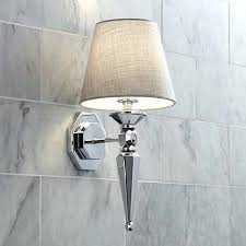 chrome bathroom sconces. Contemporary Chrome Bathroom Sconces Glamorous Mirrors And In Bathrooms Ideas Advice Lamps Plus Bath Light S