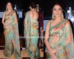 Anushka Sharma Fashion Designer Anushka Sharma Floral Digital Printed Latest Saree Designs Online Shopping