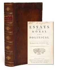 essays moral and political david hume first edition david hume essays