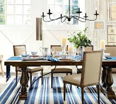pottery barn dinning room extending dining table sale54