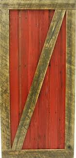 red sliding barn door. Montana Red Sliding Barn Door