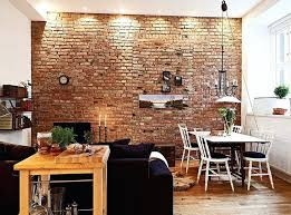 build interior wall best interior brick walls ideas on kitchen with elegant indoor wall 2 designing