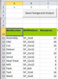 Scheduling Tool Excel Capacity Planning Tool Download Excel Template For Production Planning