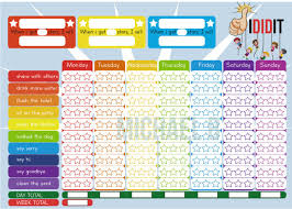 5 Day Reward Chart Entry 5 By Michbo For Design A Kids Reward Chart In A3 Size