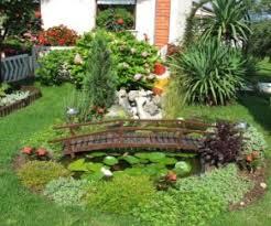 Rock garden ...