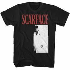 Scarface <b>Meng</b> Black T Shirt Tshirtsummer O -Neck <b>Men</b> Women T ...