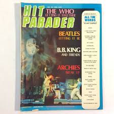 Details About Hit Parader 76 Nov 1970 The Who The Beatles B B King Archies