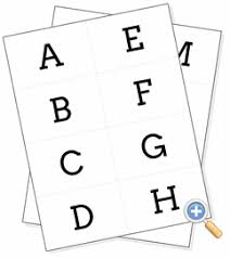 Here are four sets of picture cards for the alphabet. Create A Worksheet Recognize Letters Of The Alphabet In Nonsequential Order