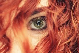Tapety Tvář Model Portrét Oči Brýle červené Makeup Zelená