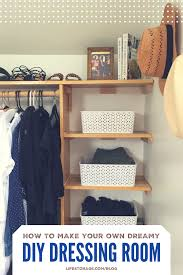 diy dressing room how to create your own dreamy walk in closet