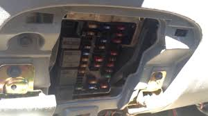 ford expedition 1996 2002 fuse box location youtube 2003 ford expedition fuse central junction box at 2003 Ford Expedition Fuse Relay Box Location