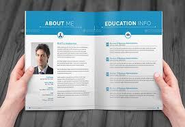 resume booklet resume booklet design _8 pages booklet resume design