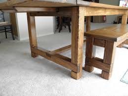 farmhouse table bench and extensions