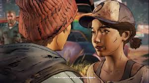 The Walking Dead A New Frontier GABE HUGS KISSES CLEMENTINE.