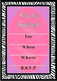 Birthday Invitation Design Templates Extraordinary Girl Party Invitations Template Teenage Birthday Invite Templates