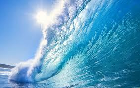 wide beautiful ocean wave wallpapers