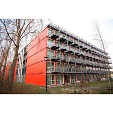 Shipping container apartment building- THis is an awesome business idea