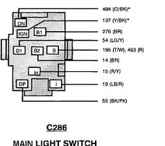 93 ford ranger coded wiring diagram for wiring harness head light