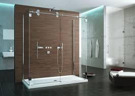 modern frameless shower doors. A Frameless Glass Shower Door Shows Off Your Tile And Fixtures Can Make Small Modern Doors Pinterest
